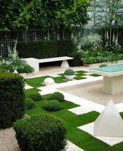 nowoczesny ogrod