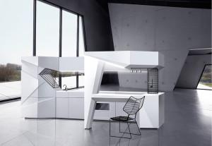 Origami-Mi-moderna-cocina-libre-de-la-pared-4