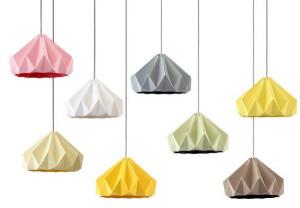 lampa origami kapibara