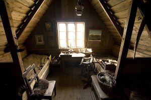 wooden-attic-bedroom