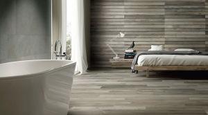podłoga i ściana prawie drewniana